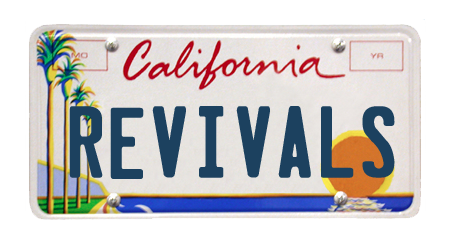 California License Plate Template Revivals